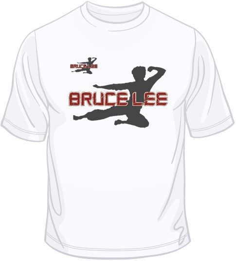 Bruce Lee - Applique w/ Crest T Shirt