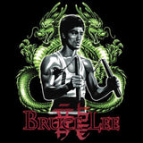 Bruce Lee Twin Dragons T Shirt