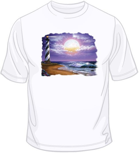 Cape Hatteras Moon T Shirt