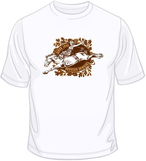 Cowgirl Bronco T Shirt