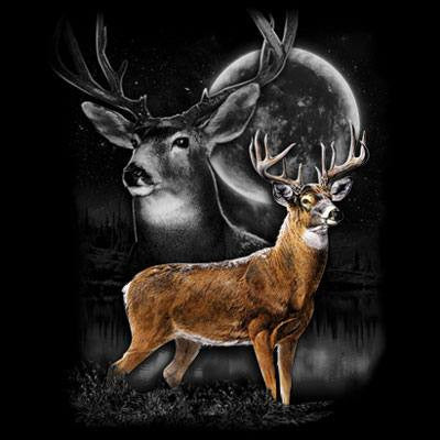 Deer Wilderness  T Shirt