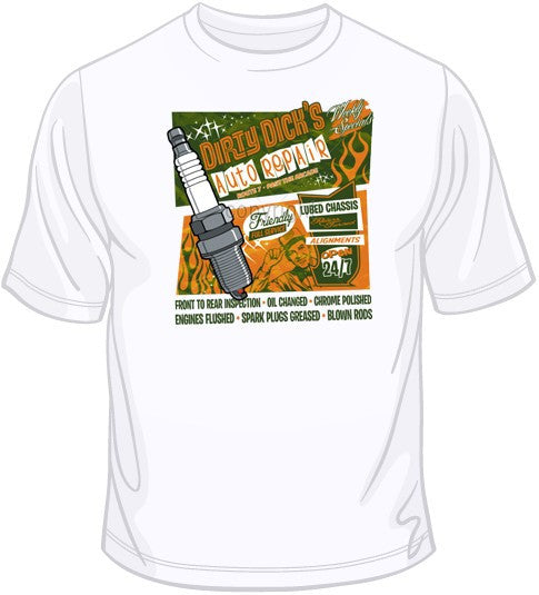 Dirty Dick's Auto Repair T Shirt