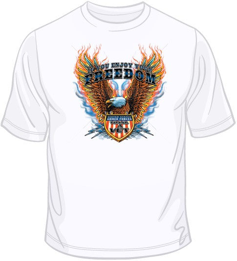 Eagle-Thank a Vet T Shirt