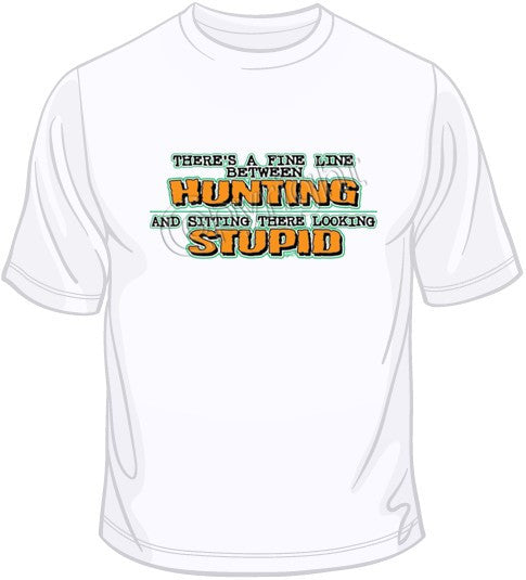 Fine Line-Hunting T Shirt