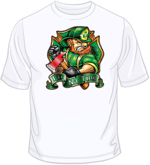FIR NA TINE-Irish  Firefighter T Shirt