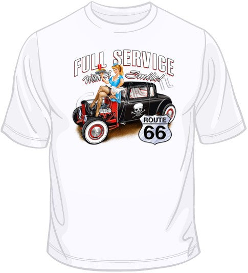 Full Service with a Smile T Shirt