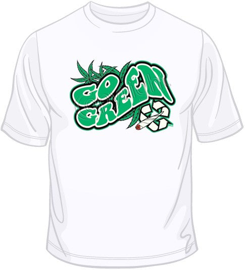 Go Green Dark T Shirt