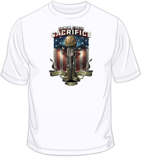 Honor Their Sacrifice T Shirt
