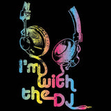 I'm With The DJ Neon  T Shirt