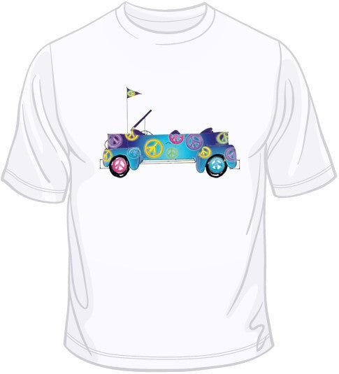 Jeep Peace Sign T Shirt