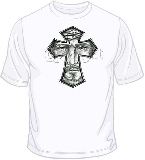Jesus Face T Shirt