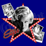 Marilyn Head / Star T Shirt