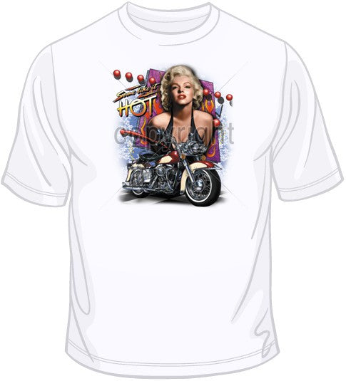 Marilyn Some Like it Hot T Shirt