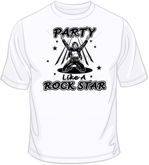Party Like a Rock Star T Shirt