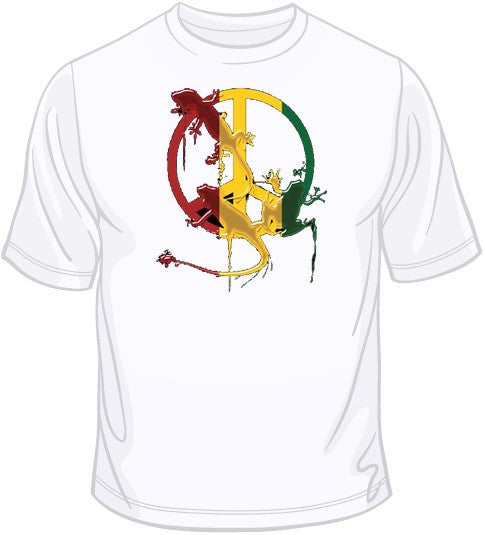 Peace Splat T Shirt