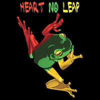 Rasta Heart No Leap T Shirt