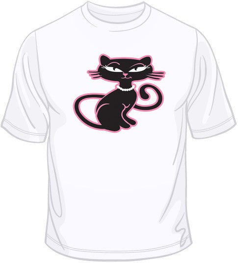 Retro Kitty T Shirt