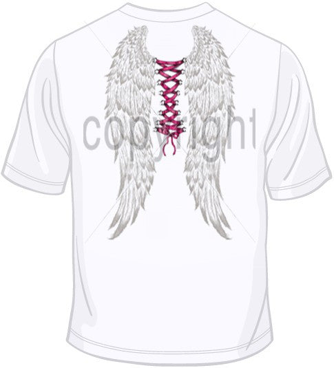 Ribbon Piercing w/ Wings T Shirt