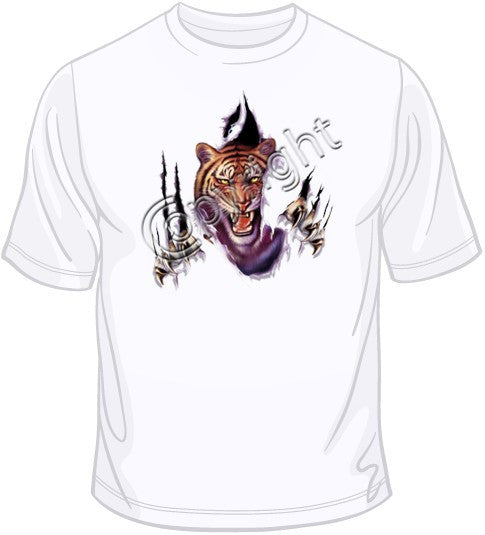 Rip Out - Tiger T Shirt