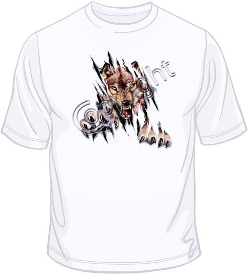 Rip Out - Wolf T Shirt