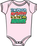 Proud of My Daddy - Army T Shirt