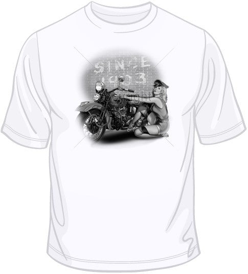 Since 1903- Girl with Bike T Shirt