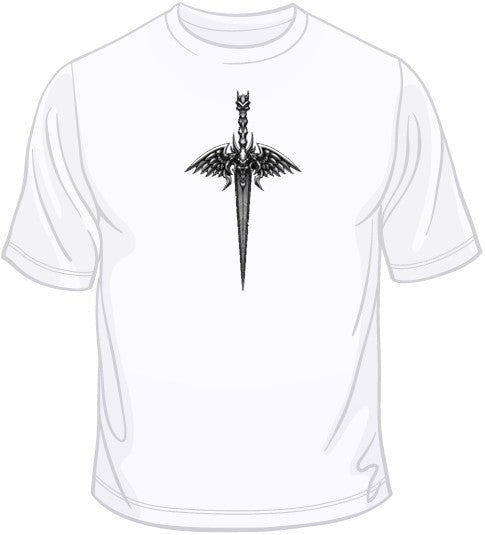 Skull Wings Knife w/ Crest T Shirt