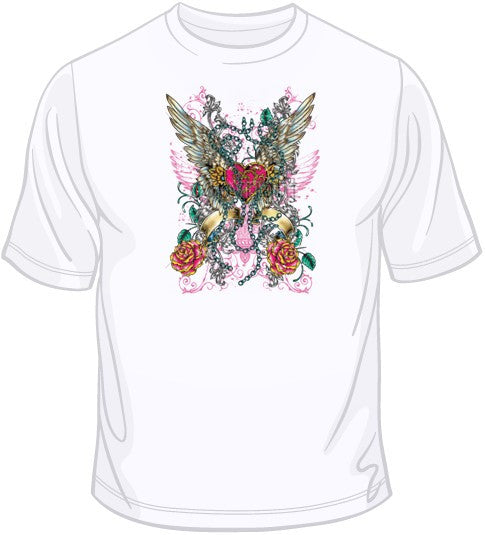 Sublimation (Winged Heart) T Shirt