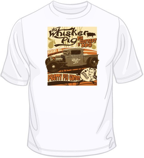 The Whisker Pig BBQ T Shirt