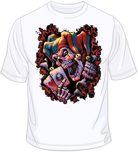 Wicked Jester  T Shirt