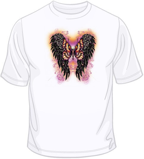 Wings w/Butterfly T Shirt