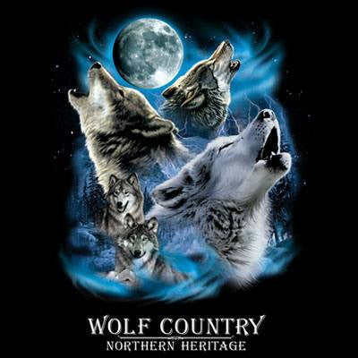 Wolf Country T Shirt
