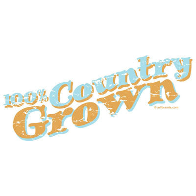 100% Country Grown T Shirt