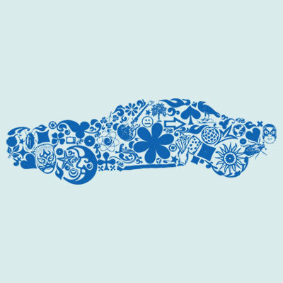 Car (mixed images) T Shirt