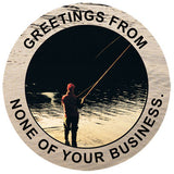 Fishing Circles Greetings T Shirt