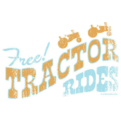 Free Tractor Rides T Shirt