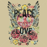 Peace- Loved Winged T Shirt