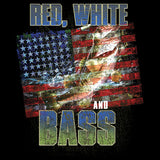 Red, White and Bass T Shirt