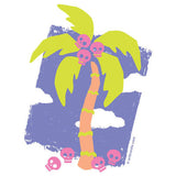 Skull Palm Tree T Shirt