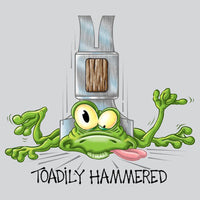 Toadily Hammered T Shirt