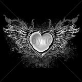 Winged Heart T Shirt
