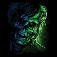Zombie Closeup  T Shirt
