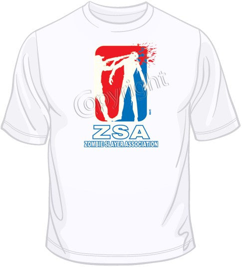 Zombie Slayer Association T Shirt