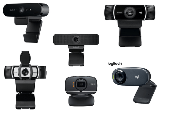Logitech™ HD FHD 4K Webcam | Buy Singapore