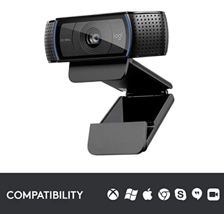 Logitech c920 webcam singapore compatibity