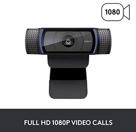 Logitech c920 webcam singapore full HD 1080 video calls
