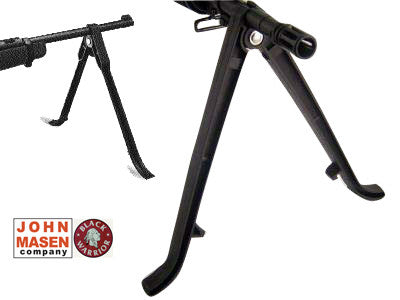 Heavy Duty Universal Plastic BiPod - Black Warrior John Masen
