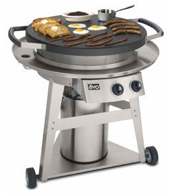 Professional Wheeled Cart BBQ Hot Plate