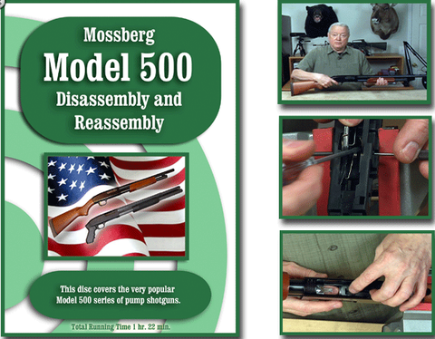 Mossberg 500 Model 500 Disassembly/Reassembly