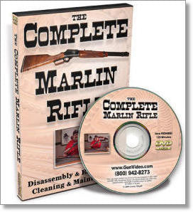 Complete Marlin Rifle Dissassembly/Reassembly DVD